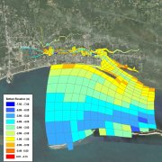 water quality modeling map