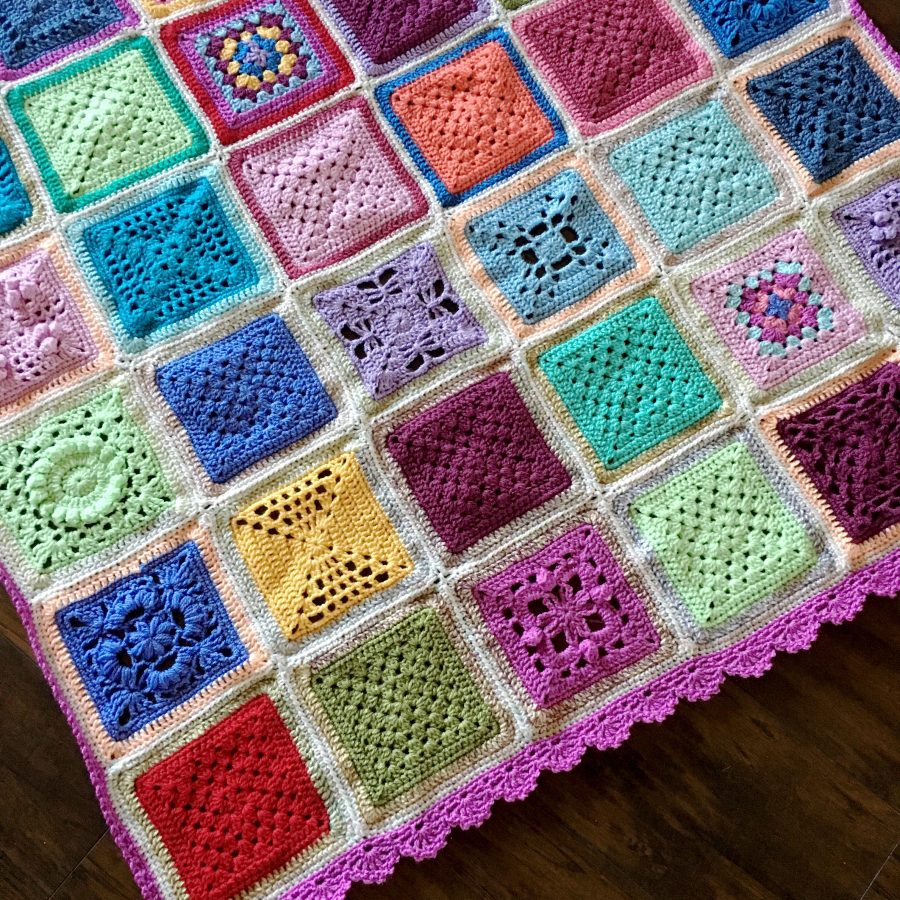 Birthday Blankets: Something old into something new :)