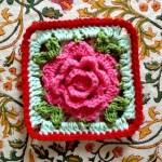My Interpretation of the Crochet Babouska Rose Tutorial