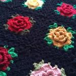 English Rose Granny Square: Free Pattern