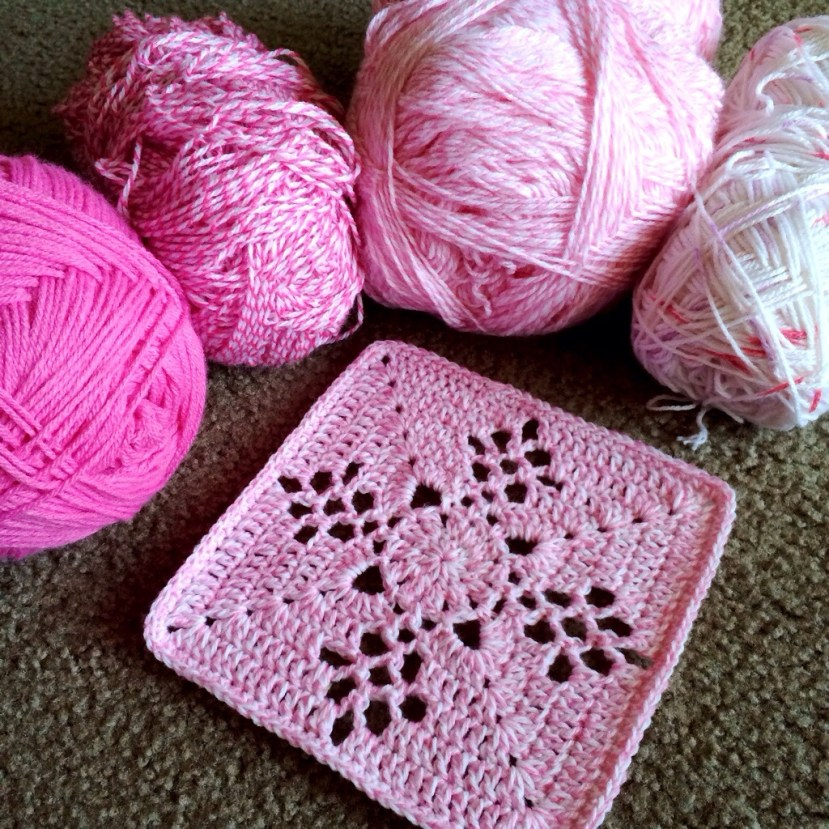 Mystery Free Crochet Square Pattern