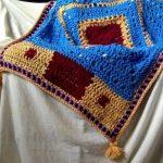 Crochet a Magic Carpet Blanket Throw Tutorial Guide
