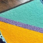 Good Vibes Blanket: A free crochet pattern for your Jungalow