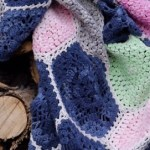 Indigo Blossom Crochet Blanket Pattern: Including Continuous Flat Braid Join Video Tutorial