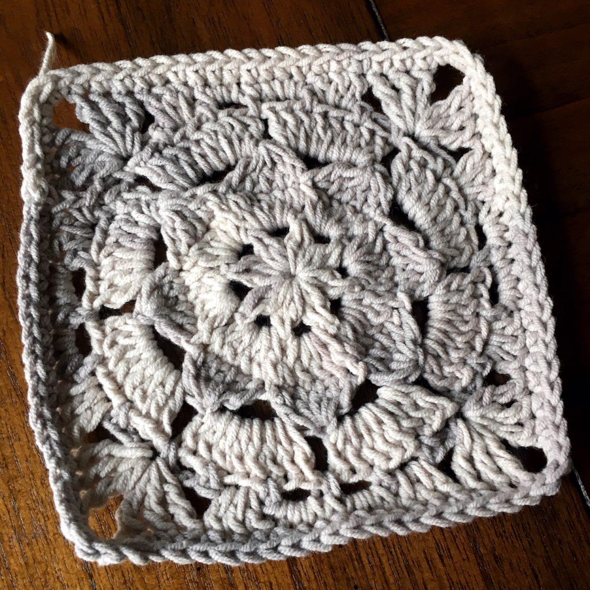 Crochet Motif: Magnolia Square