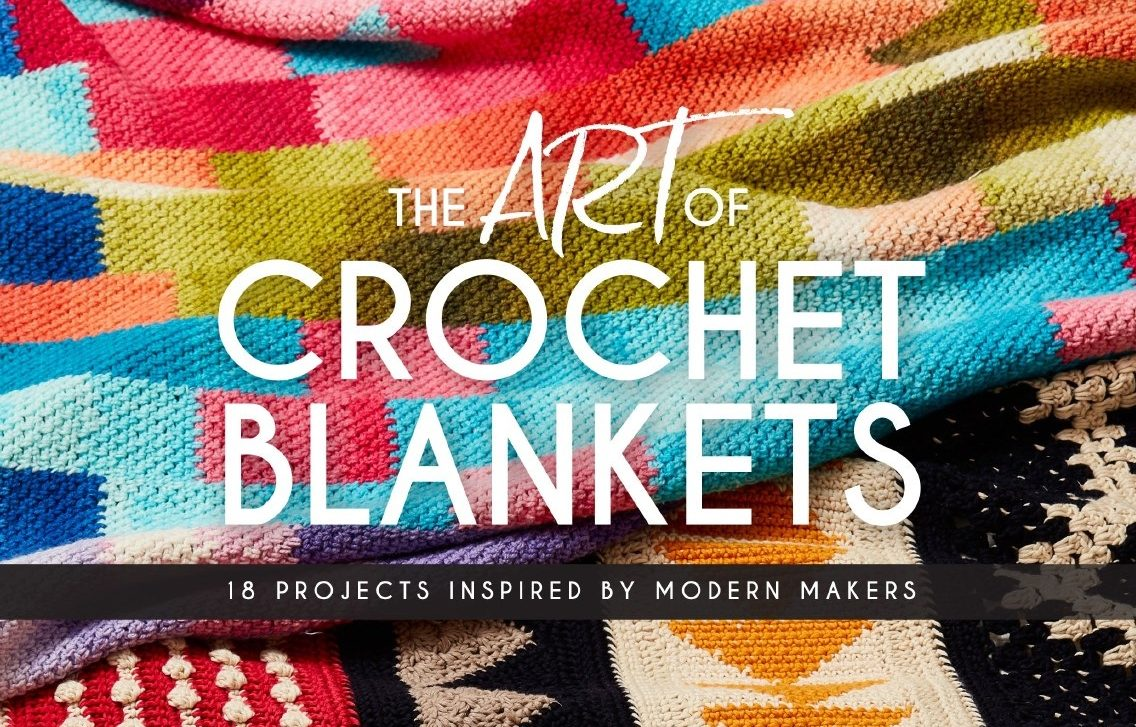 You Can Now Pre-Order My Book! The Art of Crochet Blankets