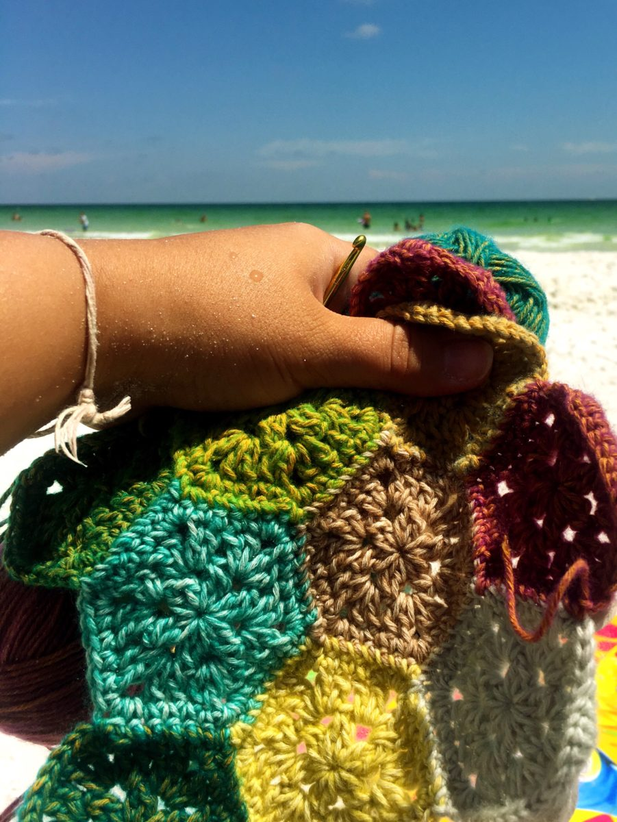 2018 Destin, FL Vacation + New Crochet WIP