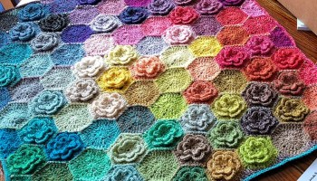 You Can Crochet This! Happy Little Tree Blanket - Pattern for