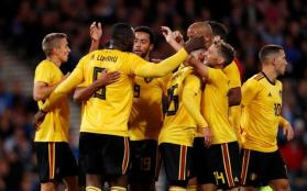 Image result for Belgium join France in number one spot in FIFA's ranking