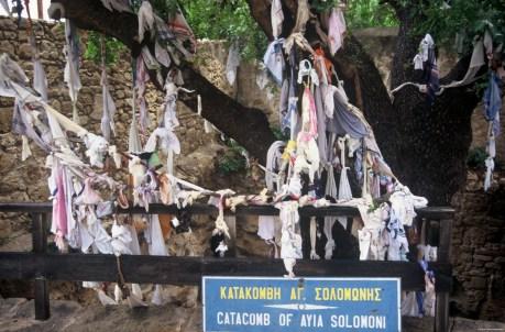 Agia Solomoni Catacomb