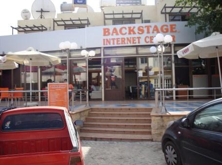 Backstage Internet Center