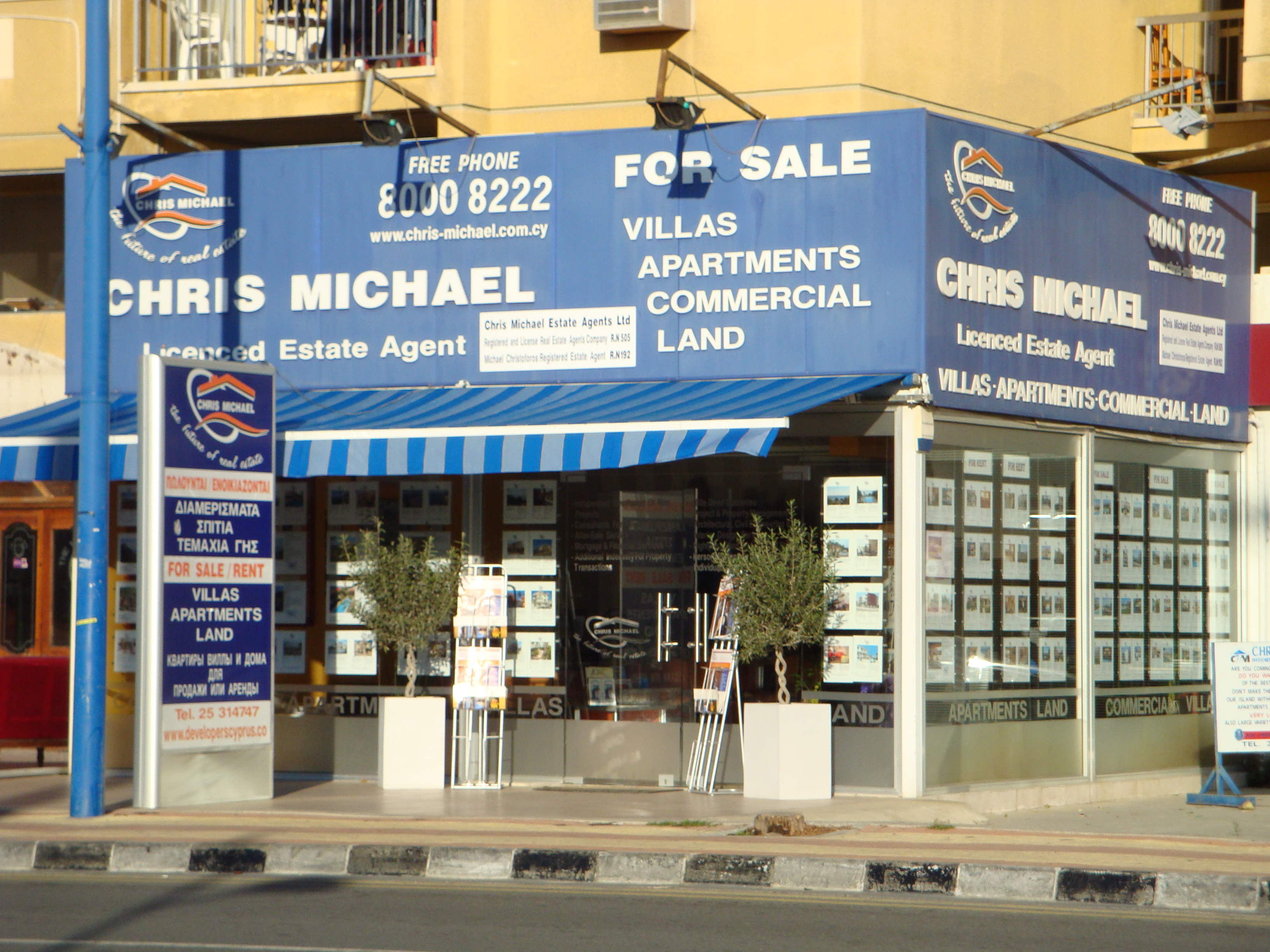 Chris Michael Estates Ltd - Limassol - Cyprus com