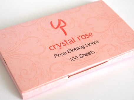 Crystal Rose Blot Off Tissues