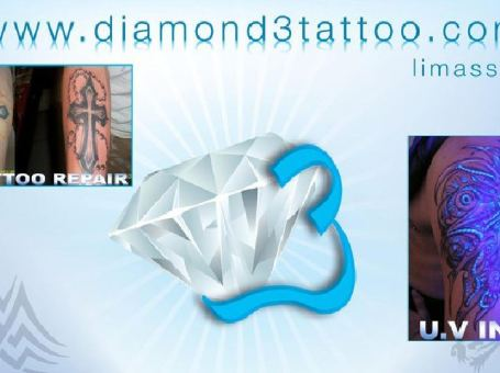 Diamond 3 Tattoo