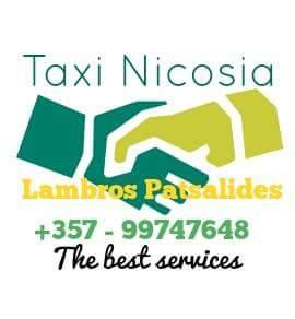 Taxi Nicosia Cyprus - Lambros Patsalides