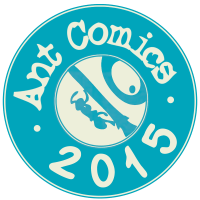 ant comics sticker