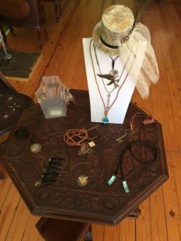 Antiquarian World creation custom jewellery creations hat