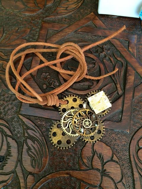 Antiquarian World creation custom jewellery gears cyprus pink panster