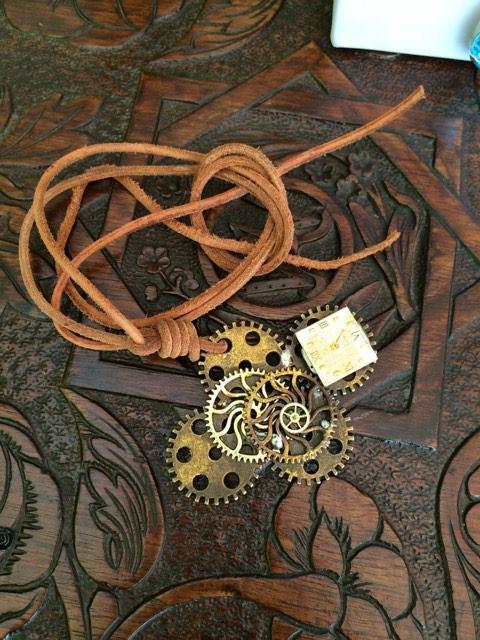 Antiquarian World creation custom jewellery gears cyprus pink panster