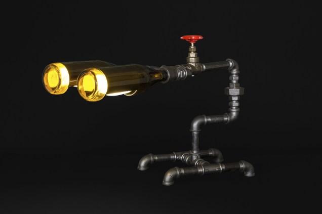 Wall-e Industrial Steampunk light