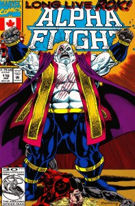 Alpha Flight: Issue #116