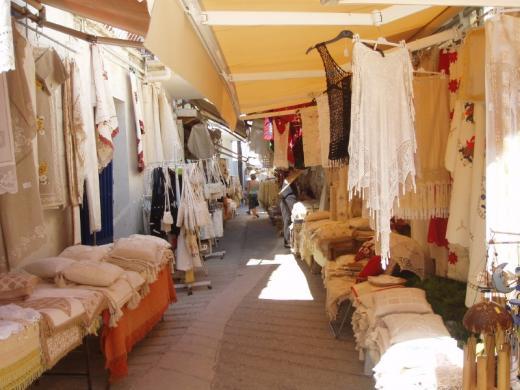 Omodos Village Market.