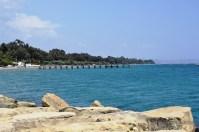 Wooden pier at Limassol (near Goody's)