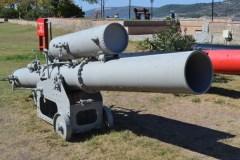 Torpedo projector of the Gallipoli period