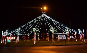 Lights are a delight near Kyrenia