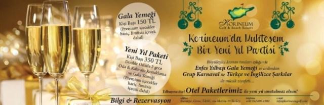 New Year celebrations at Korinium Golf and Beach Resort