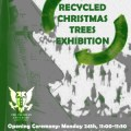 recycled chrtistmas trees
