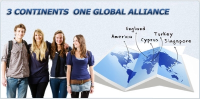 3 Continents 1 University