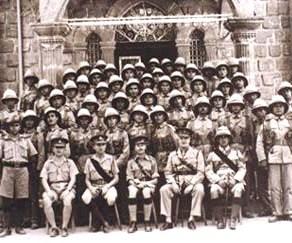 4 Cyprus Regiment parade photo .1942