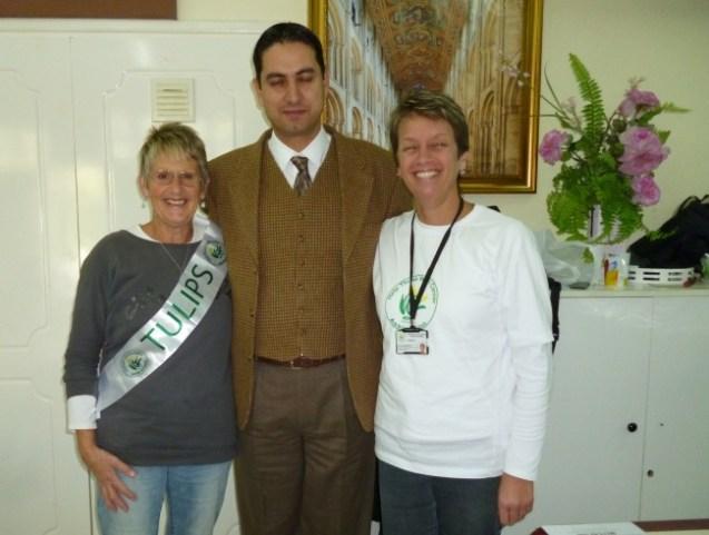 Carole King (left) Engin Savim (centre) Sue Tilt (right)