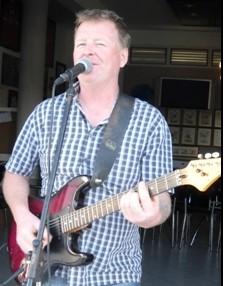 Kelvin Burke leader of the new band Blackjack.