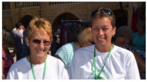 Carole King and Sue Tilt
