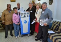 Dr Koral Ҫağman and the NCCCT Committee Members with the new Covidien Machine