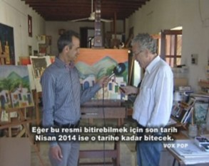 (left) Engin Dervişağa and Brian Self (right)