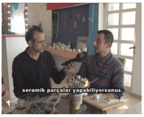Engin talks to Samet