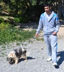 Walking the dog at KAR