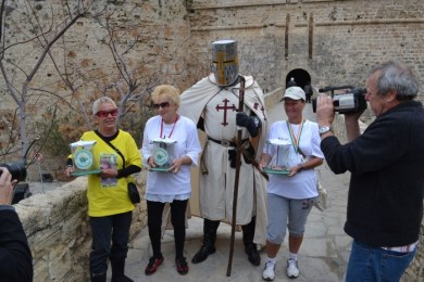 Knight Templar with his helpers