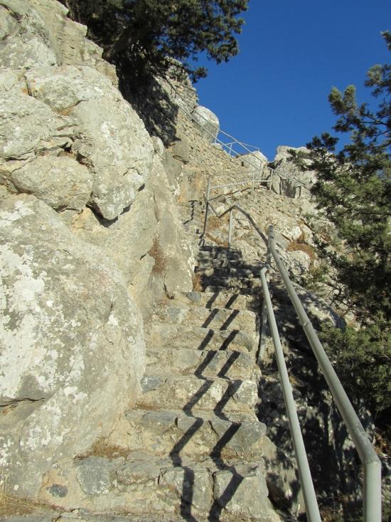 Steps to heaven or Buffavento Castle