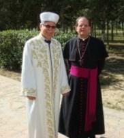 Grand Muftu, Dr Talip Atalay and Bishop Michael Lewis