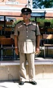 Numan Mehmet Ramadan a member of the Cyprus Police