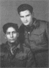 Left to right - Seyit M. Ramadan seated & an unknown friend