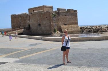 Jenna Thwaites by Paphos Castle