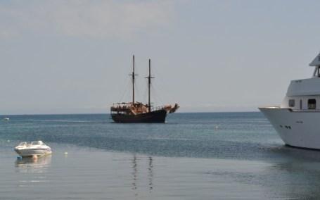 A returning boat trip