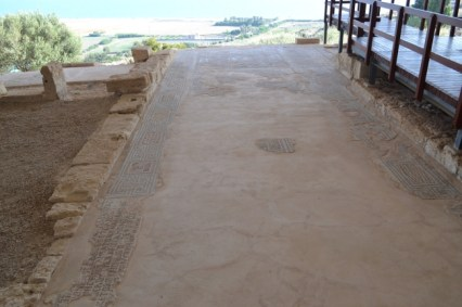 House of Eustolius - Most of the floor decoration has been lost,