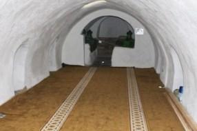 Inside Kirklar Turbesi (The Tomb of Forty)