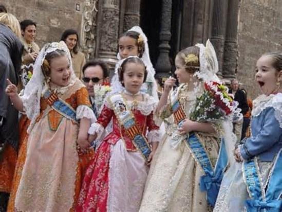Spanish folk dress